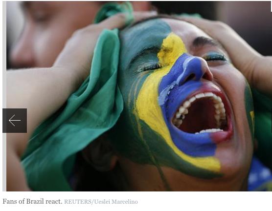Brazil soccer shame