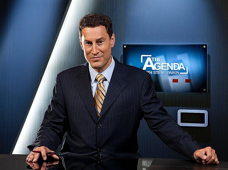 Steve Paikin is the host of The Agenda on TVO.
